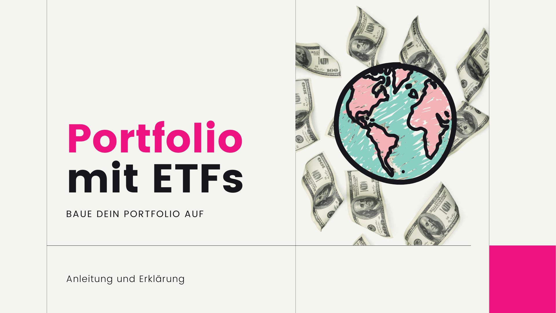 Wie baue ich ein Portfolio mit ETFs auf?