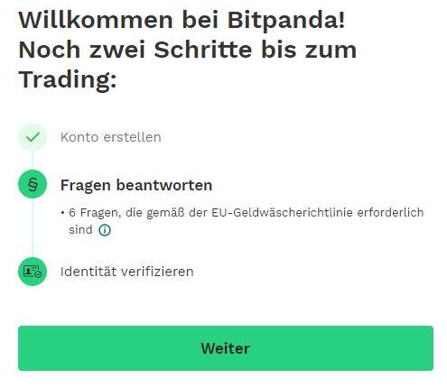 Bitpanda Verifizierung