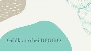 Geldkonto Degiro